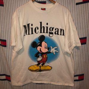 Vintage Mickey Mouse short sleeve shirt